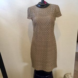Sue Chin for Maggie boutique lace overlay dress